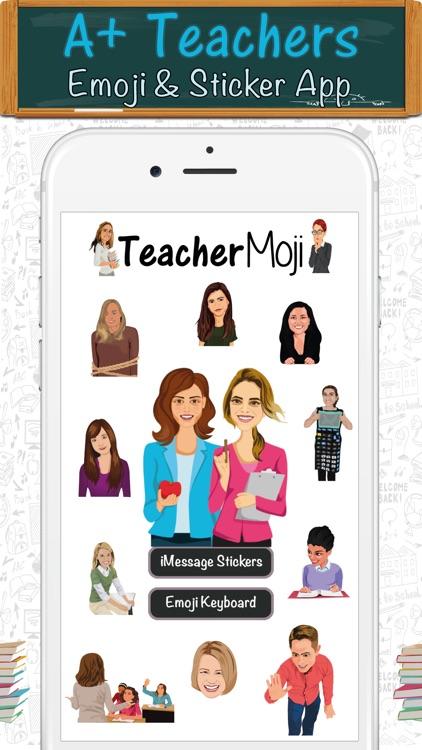 TeacherMoji - Teacher Emojis and Stickers!