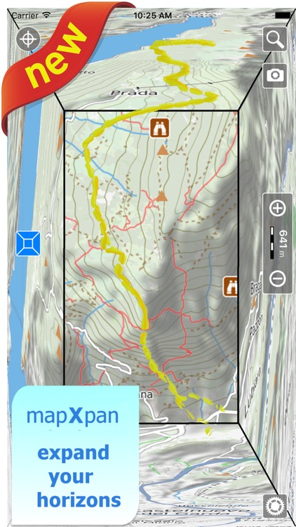 Terra Map - GPS Hiking trail maps | HD screenshot-0