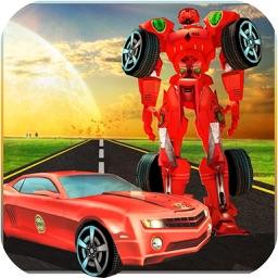 Robot Car Fighting Street 3D