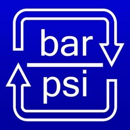 Bar / PSI Converter