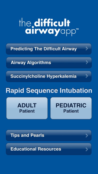 The Difficult Airway App review screenshots
