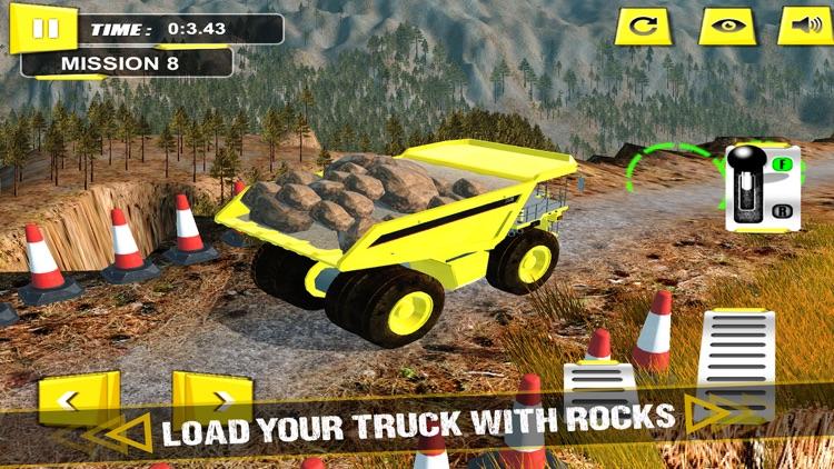 Truck Driver 3D - Hill Mining Truck screenshot-3