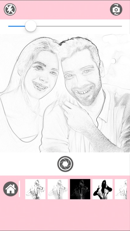 Pencil Sketch Photo Editor - Color Effects screenshot-1