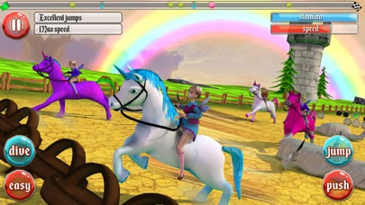 Ultimate Unicorn Dash 3D screenshot three