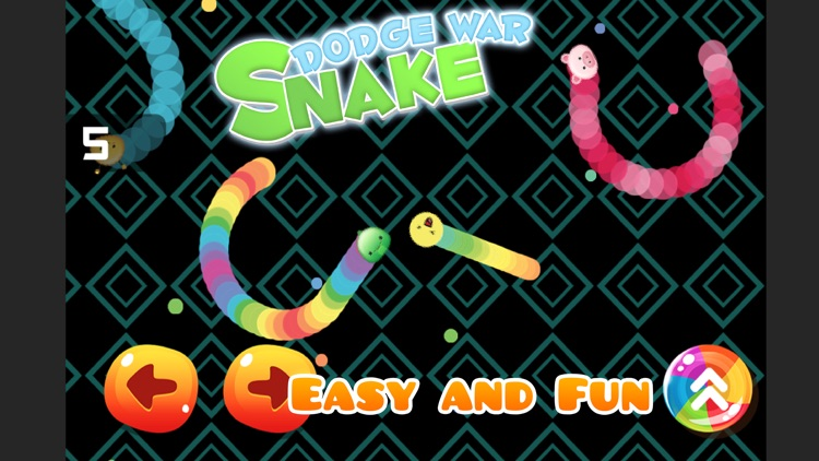 Snake Dodge War Slither