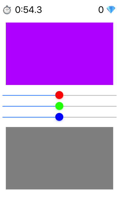 RGB Master - Colour Mixing Puzzle screenshot one
