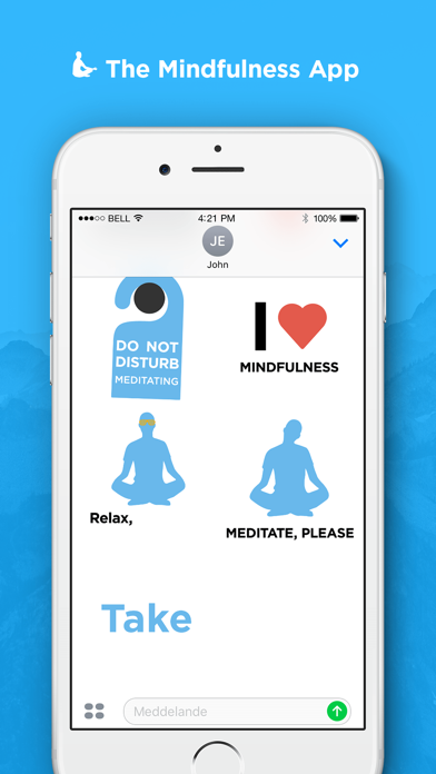 Mindfulness Stickers screenshot two
