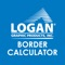 Easy to use app that quickly calculates border sizes for picture framing mats