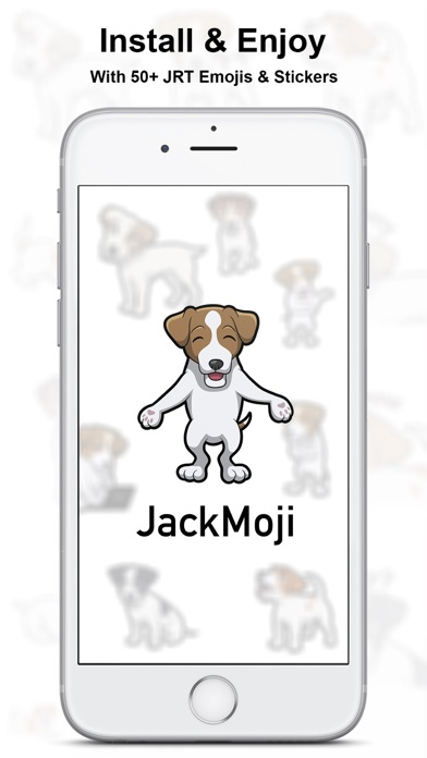 JackMoji - Jack Russell Emoji & Stickers Screenshot 3
