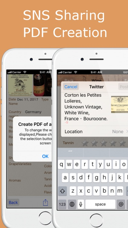 Wine Collection - scanner,ratings wine app