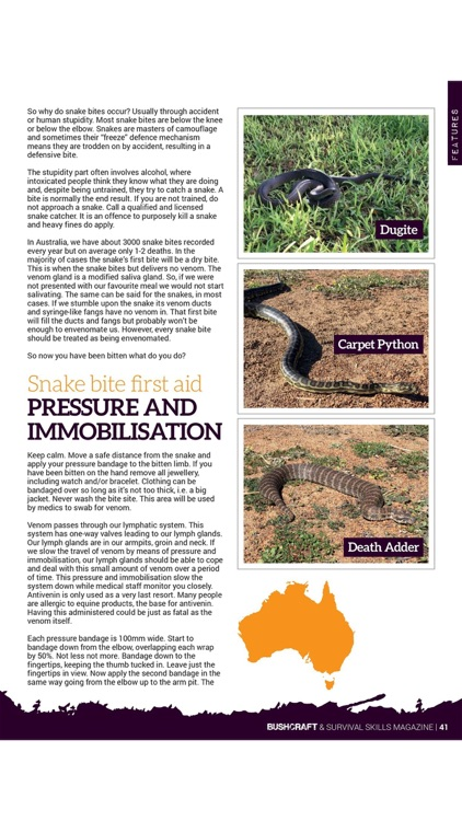 Bushcraft & Survival Skills Magazine - 'For living life outdoors…' screenshot-3