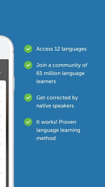 busuu - Learn English, Spanish & Other Languages app image