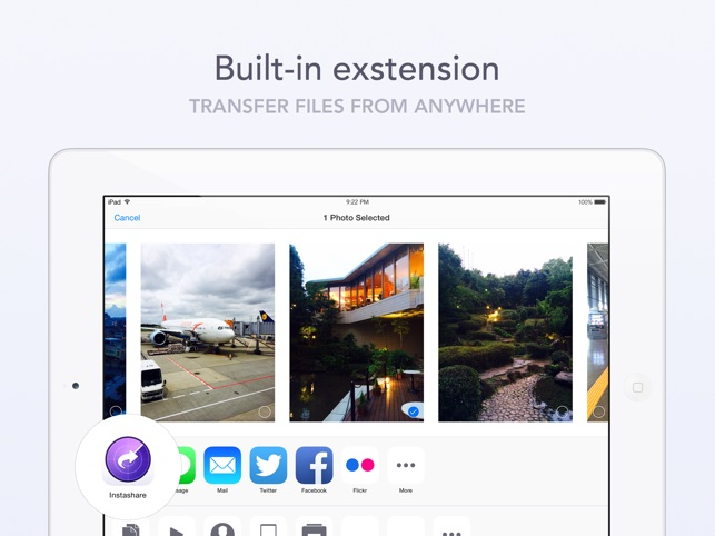 Instashare Air Drop Screenshot