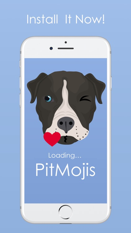 PitMojis - Pit Bull Emoji & Stickers screenshot-4