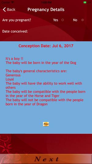 Baby Gender Predictor : Qinggong Lite on the App Store