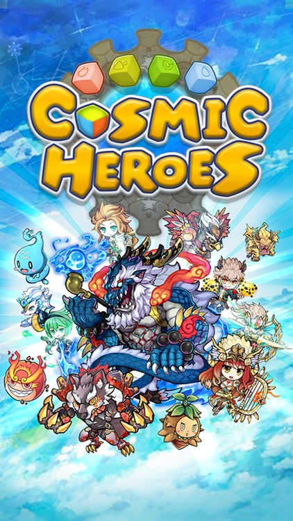 Cosmic Heroes - 3D Puzzle x RPG screenshot-0
