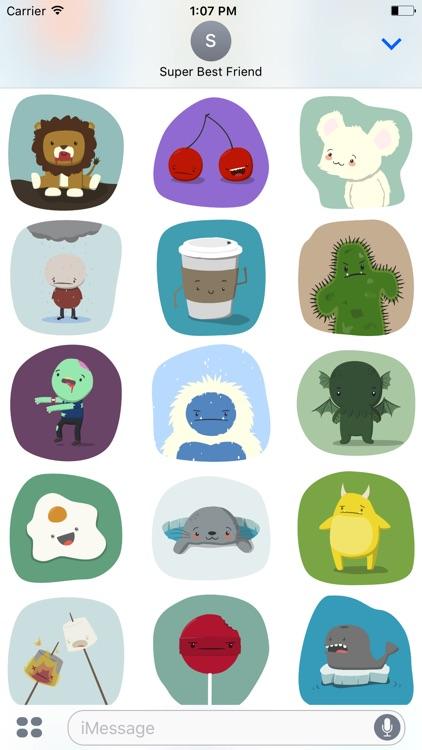Far Too Cute Stickers screenshot-4