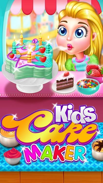 Kids Cake Maker Food Cooking Games for girls