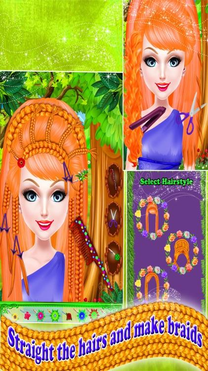 Fairy Princess Braided Hairstyles screenshot-3