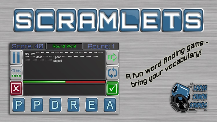 Scramlets - Ad Supported screenshot-4