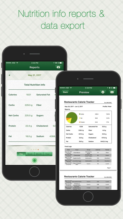 Restaurant Calorie Tracker Pro - Diet & Weight Log screenshot-4