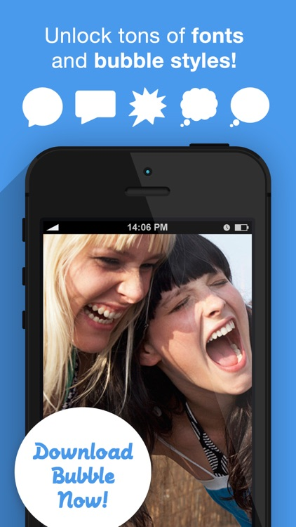 Bubble+ Add Speech Captions & Quotes to Photos screenshot-4