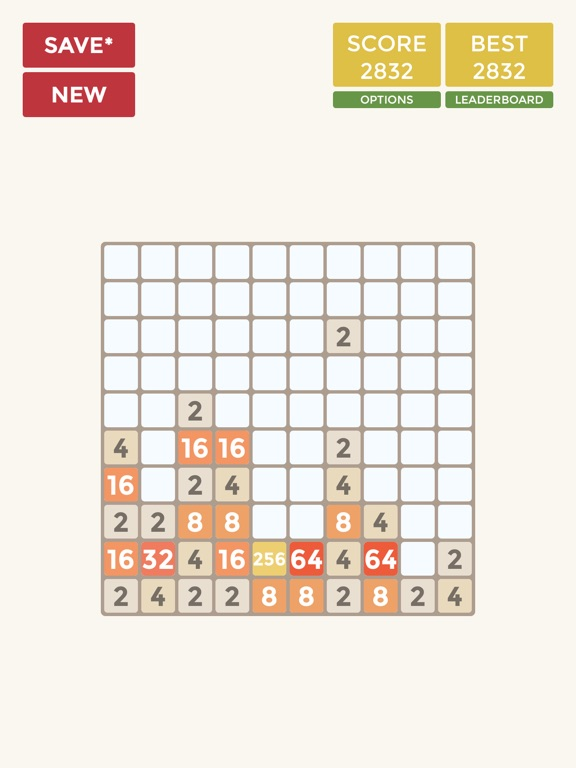 Скачать игру 2048 4x4 6x6 8x8 10x10