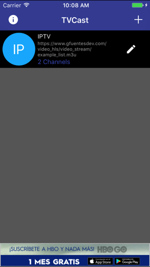 TVCast IPTV on your TV on the App Store