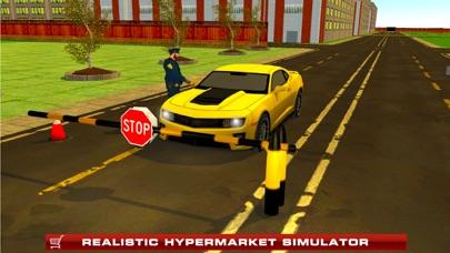 Supermarket Drive Through 3D – Shop in Car Sim screenshot four