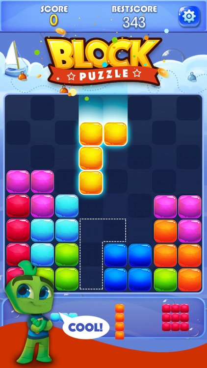 Candy Block Puzzle Blitz screenshot-0