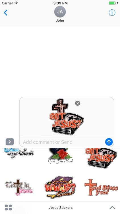 Animated Jesus Christ GIF Stickers screenshot-3