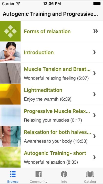 Autogenic Training Progressive Muscle Relaxation 2
