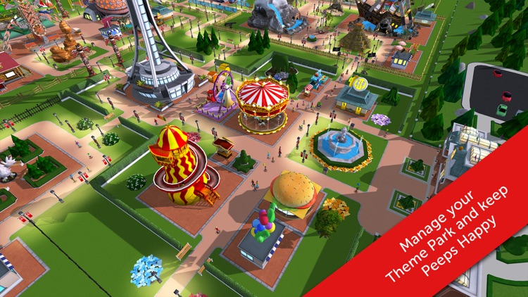 RollerCoaster Tycoon® Touch™ screenshot-2