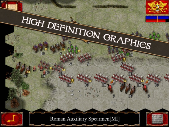 Ancient Battle: Rome на iPad