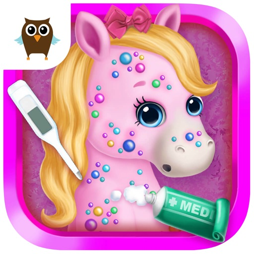 Pony Sisters Pet Hospital - Pink Horse Doctor