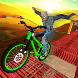 BMX Racer Bicycle Stunts 3D