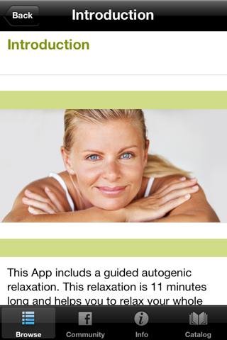 Autogenic Training Progressive Muscle Relaxation - náhled