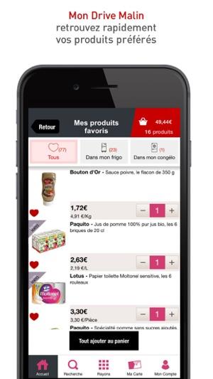 drive intermarch livraison on the app store. Black Bedroom Furniture Sets. Home Design Ideas