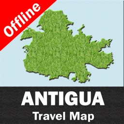 ANTIGUA – GPS Travel Map Offline Navigator