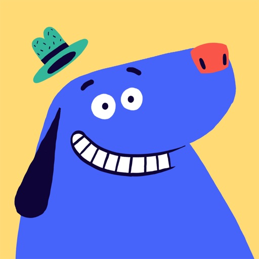 SZ Kinder-App: Der blaue Hund application logo