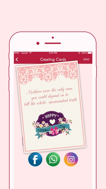 Happy Mother's Day Greeting Cards screenshot-3
