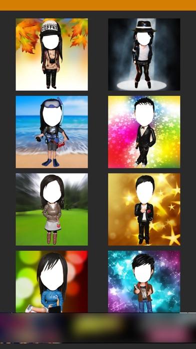 Bobblehead -Fun Selfie Profile photo for snapchat screenshot two