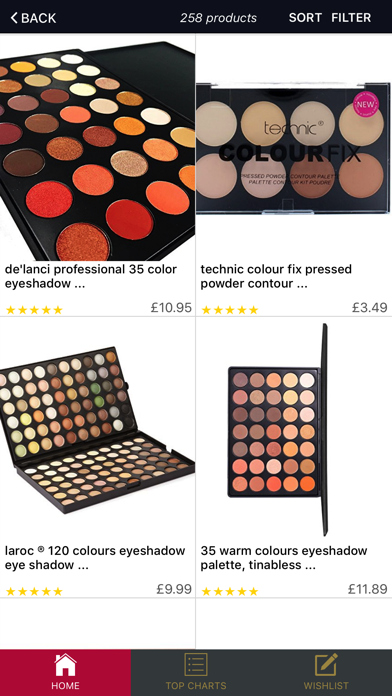 Beauty & Makeup Outlet UK screenshot two