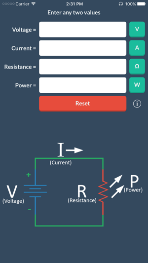 Ohm's Law on the App Store