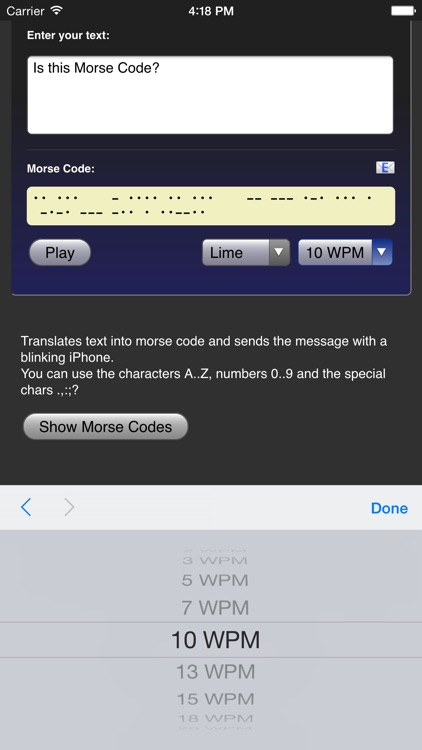 Morse Code screenshot-3