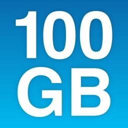 100 GB Online Cloud Storage Space - Degoo Drive