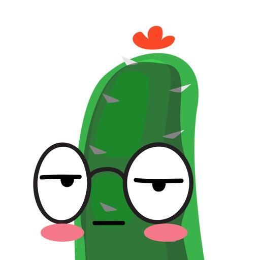 Mr Cactus Stickers