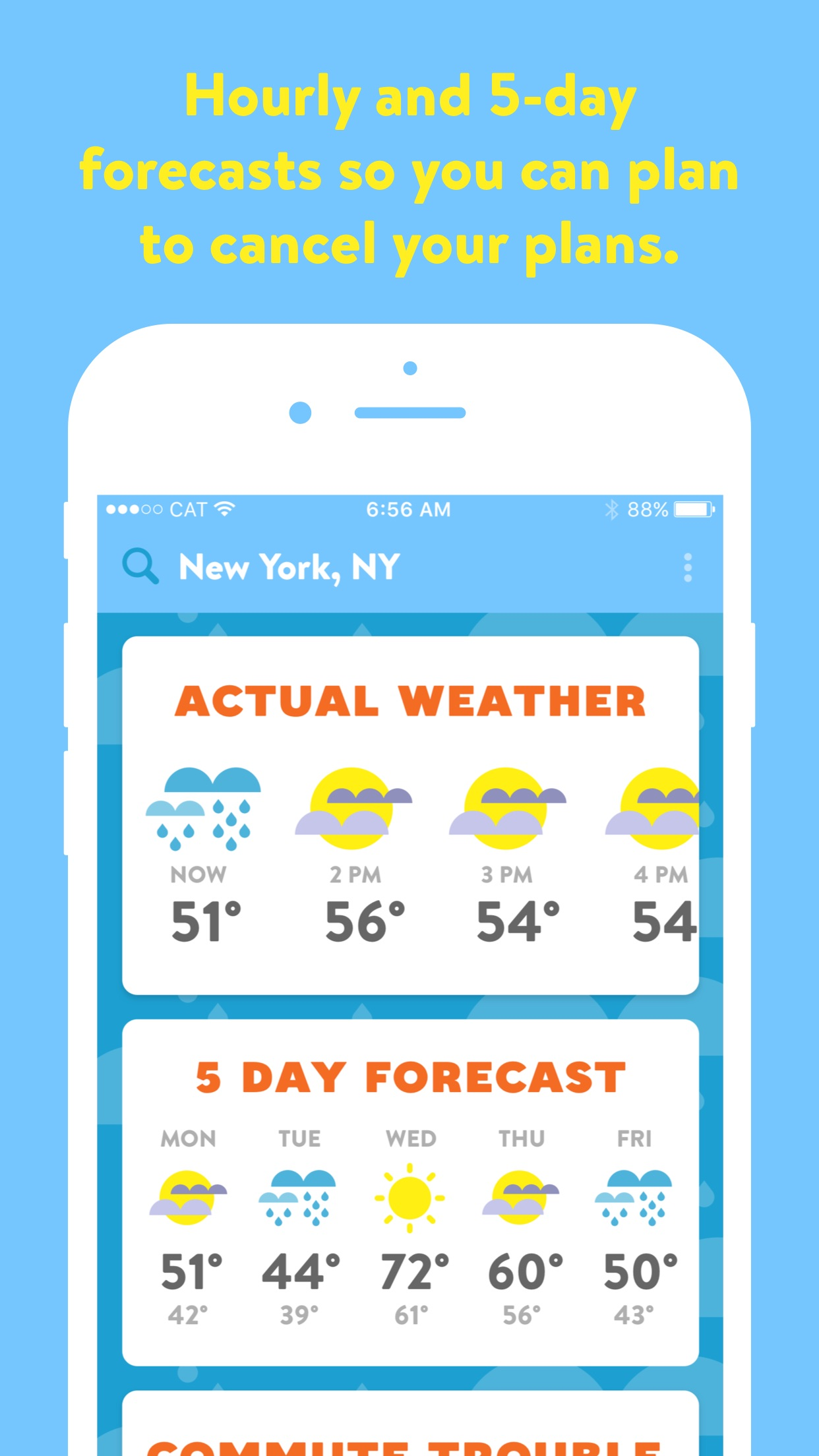 Poncho: Wake Up Weather Screenshot
