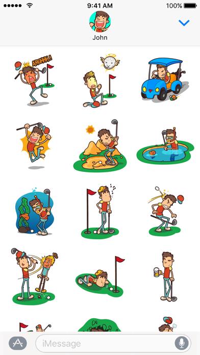 点击获取GolferMoji - Golf Emoji Keyboard + Stickers