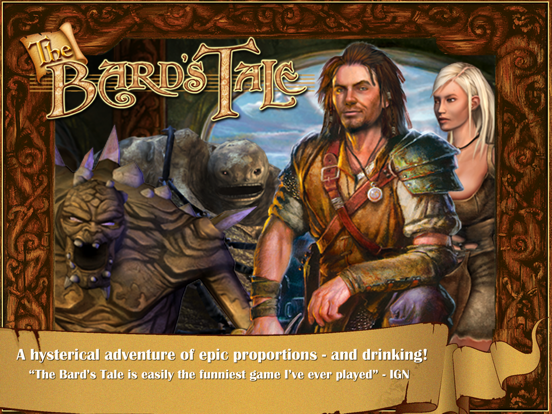 The Bard's Tale на iPad